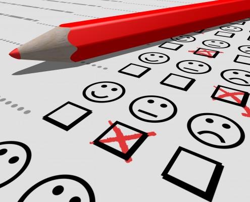 Evaluatie voor geluk en succes