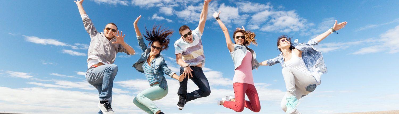 Gelukkige jongeren maken gerichte keuzes in werk en studie voor een succesvolle toekomst!