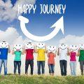 Jongeren op weg naar geluk en succes