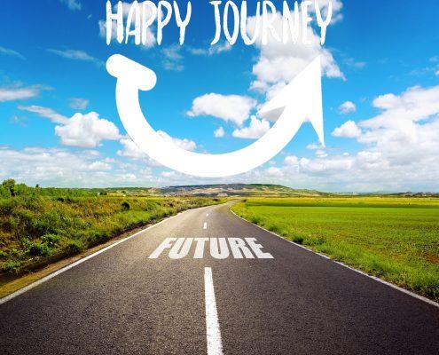 Happy Journey naar geluk en succes jongeren